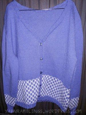 Bubblewrap cardigan